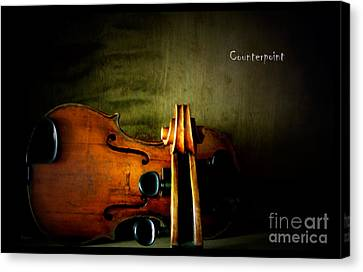 Counterpoint Canvas Print by Steven Digman