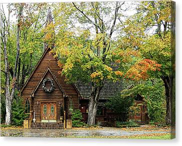 Country Chapel Canvas Print