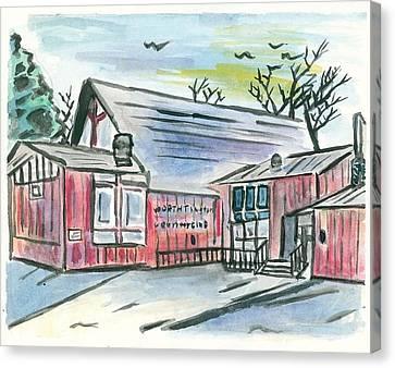 Country Club Canvas Print by Matt Gaudian