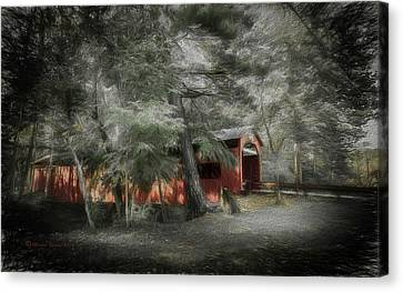 Rural Landscapes Canvas Print - Country Crossing by Marvin Spates
