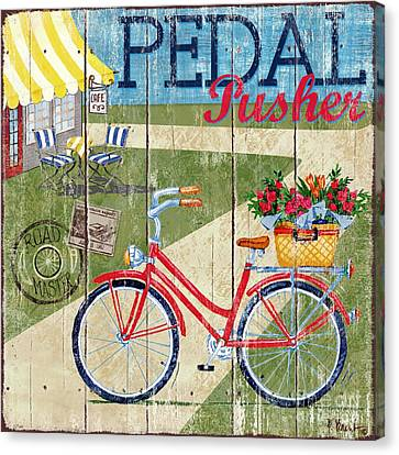 Bicycle Canvas Print - Country Cruisers IIi by Paul Brent