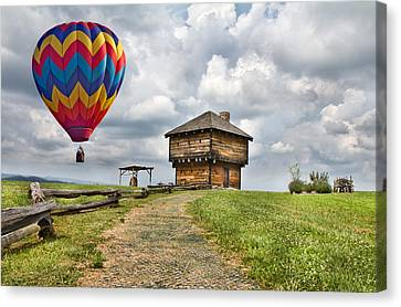 Pathway Canvas Print - Country Cruising  by Betsy Knapp