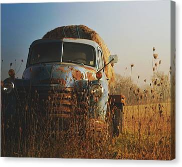 American Workhorse Canvas Print by Rick Petersen