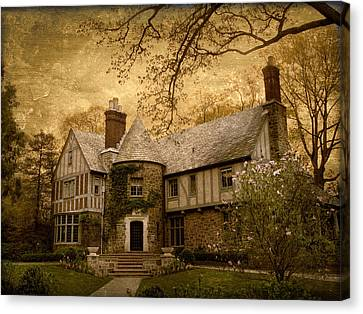 Country Estate Canvas Print by Jessica Jenney