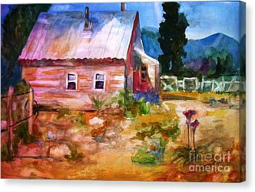 Country House Canvas Print