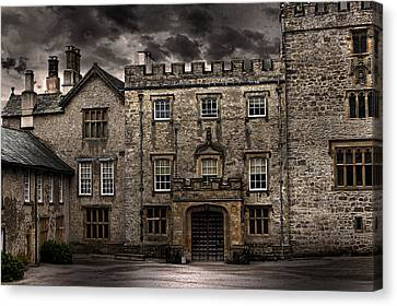 Country House Canvas Print by Martin Newman