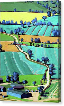 Country Lane Summer II Canvas Print