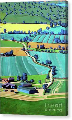 Country Lane Summer IIi Canvas Print