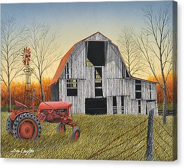 Country Life Canvas Print by Don Engler