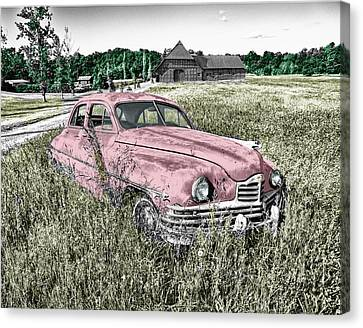 Country Life Canvas Print by Ericamaxine Price