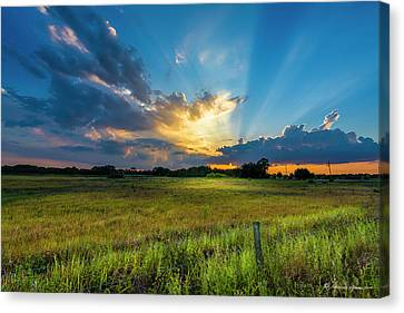 Country Life Canvas Print by Marvin Spates