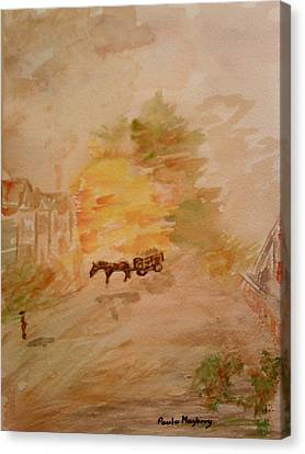 Country Life Canvas Print by Paula Maybery