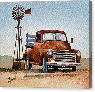 Country Memories Canvas Print by James Williamson