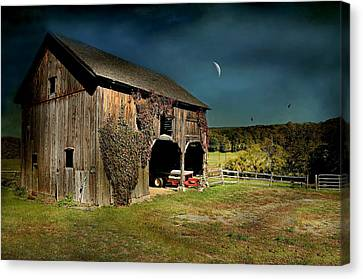 Country Moves Canvas Print by Diana Angstadt