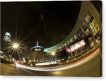 Country Music Hall Of Fame Canvas Print by Giffin Photography