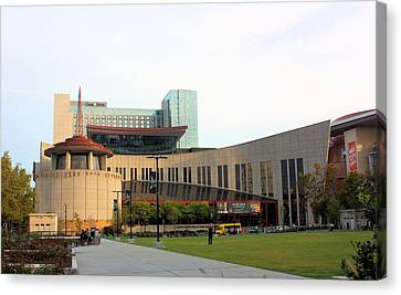 Nashville Tennessee Canvas Print - Country Music Hall Of Fame by Kristin Elmquist