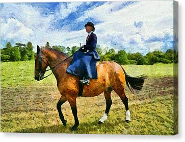 Canvas Print featuring the photograph Country Ride by Scott Carruthers