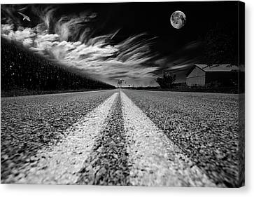 Country Road 51 Canvas Print