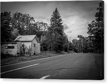 Country Road  Canvas Print by Andrew Kazmierski