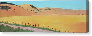 Country Road Canvas Print by Gary Coleman