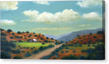Country Road Canvas Print by Gordon Beck
