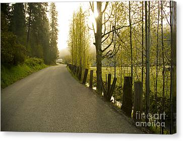 Country Road Canvas Print by Idaho Scenic Images Linda Lantzy
