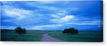 Country Road Passing Canvas Print by Panoramic Images