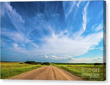 Saskatchewan Canvas Print - Country Roads IIi - Signed Edition by Ian McGregor