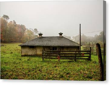 Country Shed Canvas Print