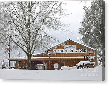 Country Store Canvas Print by Benanne Stiens