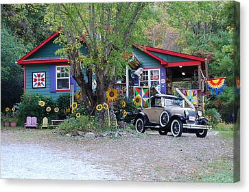 Country Store  Canvas Print by Kathy Gibbons