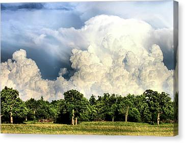 Country Storm Canvas Print by Karen M Scovill