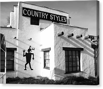 Country Styles Canvas Print by Glenn McCarthy Art and Photography