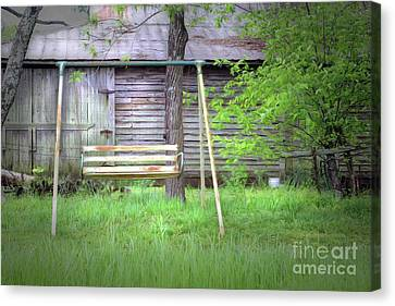 Country Swing Canvas Print by Marion Johnson