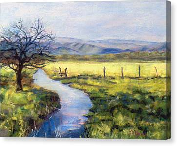 Countryside Canvas Print by Julie Maas