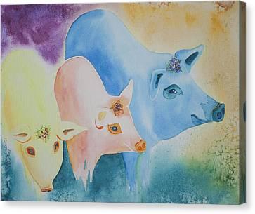 County Fair Canvas Print by Tracy L Teeter