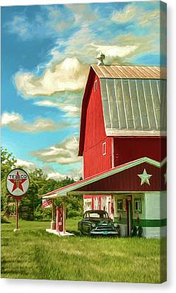 County G Classic Station Canvas Print by Trey Foerster