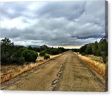 County Road Canvas Print
