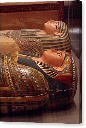 Couple Of Sarcophagi Canvas Print