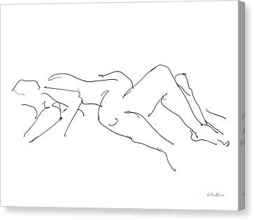 Couples Erotic Art 4 Canvas Print
