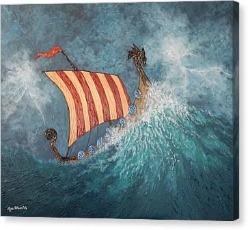 Dragons Vengeance Canvas Print