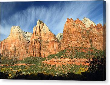Court Of The Patriarch In Zion Canvas Print by Pierre Leclerc Photography