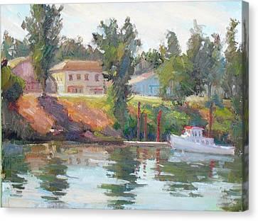 Courtland View Canvas Print by Patris M