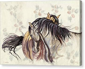 Canvas Print - Courtship by Kim McElroy