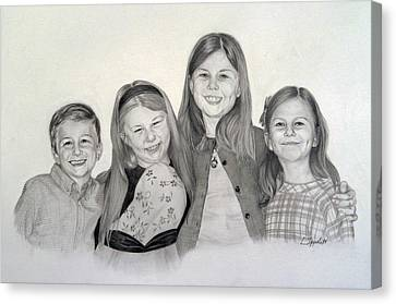 Cousins  Canvas Print by Lori Ippolito