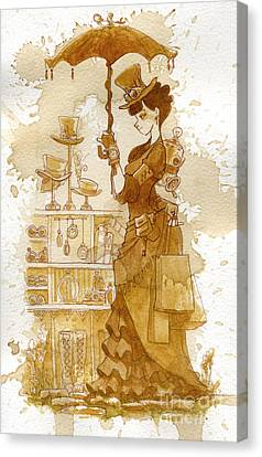 Couture Canvas Print by Brian Kesinger