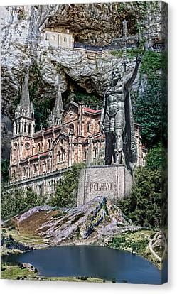 Covadonga Canvas Print by Angel Jesus De la Fuente
