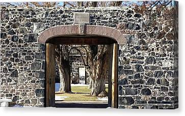 Cove Fort, Utah Canvas Print by Cynthia Powell