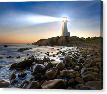 Cove Light Canvas Print