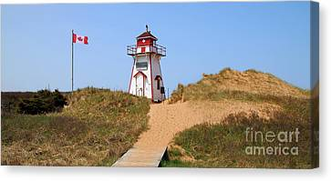 Covehead Harbour Lighthouse 5701 Canvas Print by Jack Schultz
